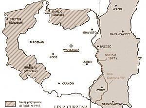 Porównanie granic i obszarów zajmowanych przez IIRP (do 1939) oraz IIIRP