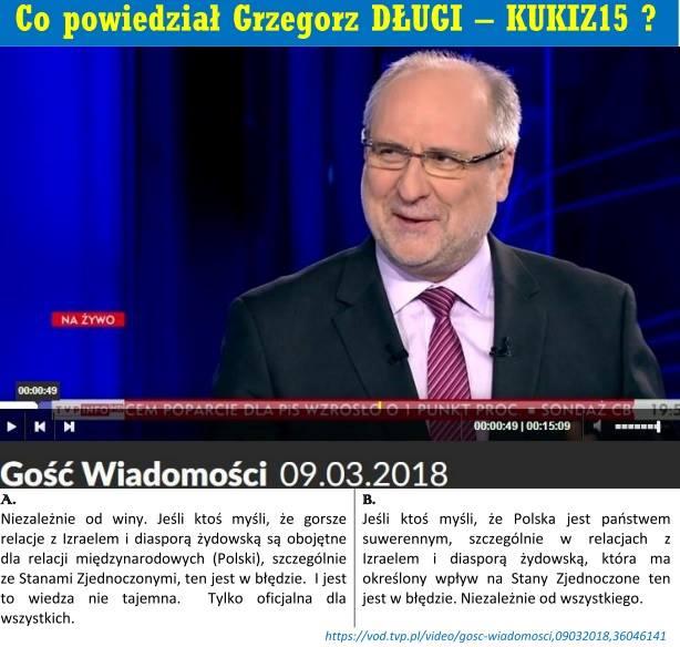 Poseł Grzegorz Długi