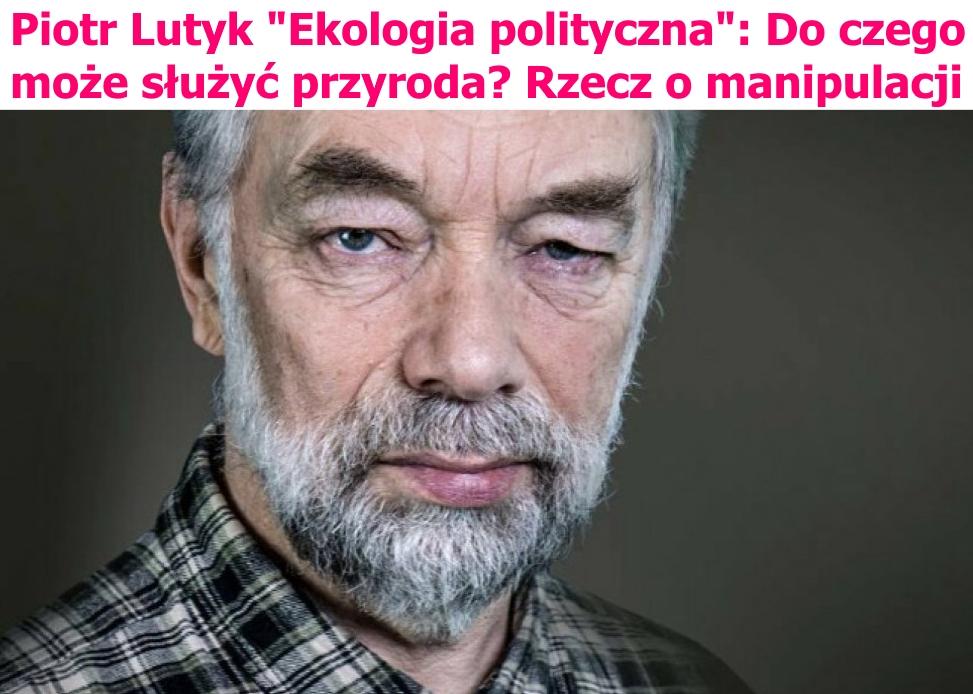 """Nagłówek felietonu Piotra Lutyka na portalu """"W sensie"""""""