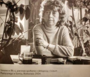 """Zdjęcie z książki Anny Kamińskiej """"Simona"""""""