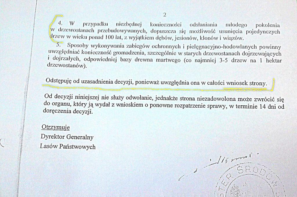 Decyzja MŚ, Cz. Śleziaka (SLD) z 2003 roku, str.2