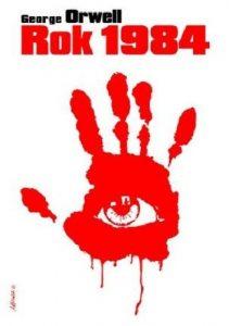 Rok 1984 George Orwell - okładka ksiązki