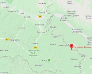 Najstarsze stanowisko sosny - Torfowisko Tarnawa Wyżna, Mapy Google www.google.pl