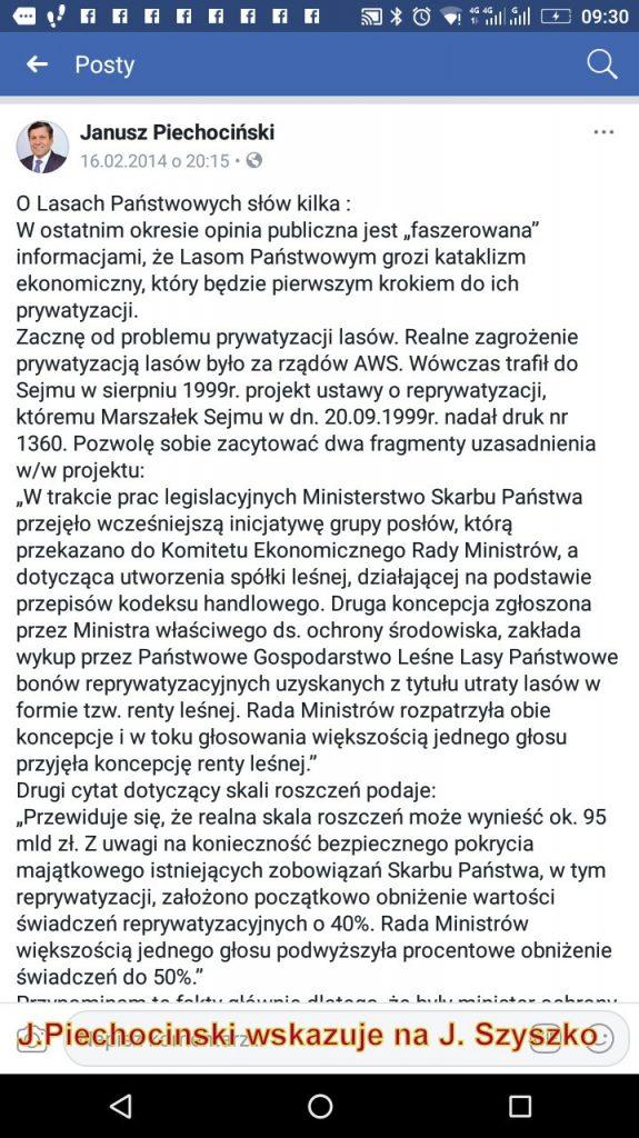 J.Piechociński wskazuje na zaistniałe realne zagrożenie dla LP