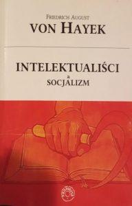 Okładka książki-eseju Frederica von Hayek,