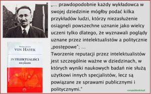 F. von Hayek i intelektualiści